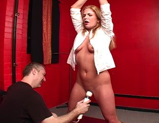 Expand and whip  samantha lynn gets strung up by the thumbs then violated. Samantha Lynn gets strung up by the thumbs then violated