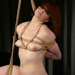 Shibari skills  ms brigett puts on a shibari display using rope slut claire. Ms Brigett puts on a shibari display using rope bitch claire