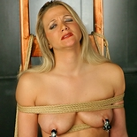 Tortured chair  lascivious kaitlynns nipples are throbbing in pain as she is forced to take a huge rubber penish. Excited Kaitlynns nipples are throbbing in pain as she is forced to take a huge rubber cock