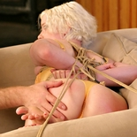 Whip after binding  lustful rose gets bound for enjoyment and teased with little whip kisses. Lascivious Rose gets bound for delight and teased with little whip kisses